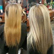 fresh blonde application