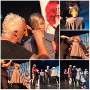 hair cutting demo